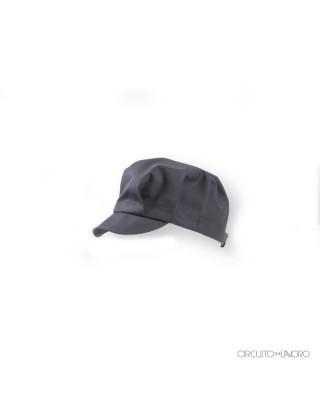 Melissa - Wide gray hat...