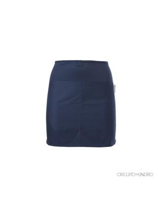 Basilico Blue - Short apron