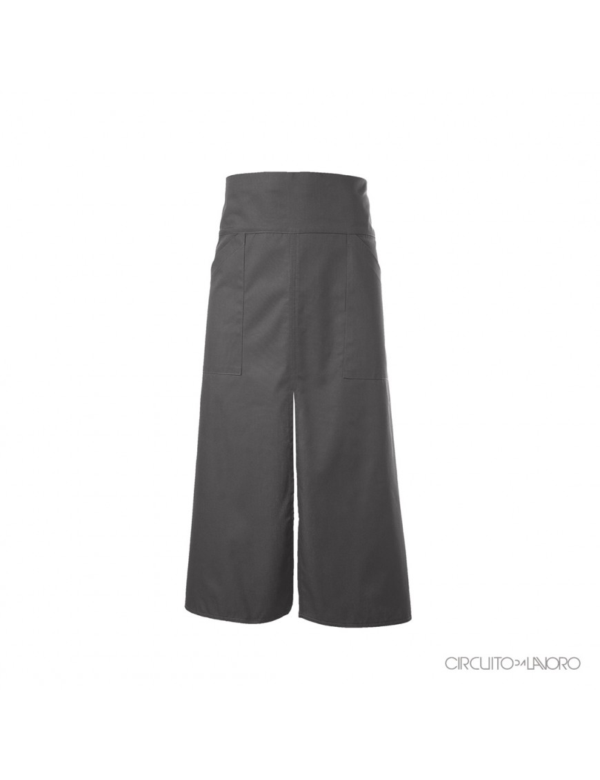Alloro Grey - Low apron with waist band