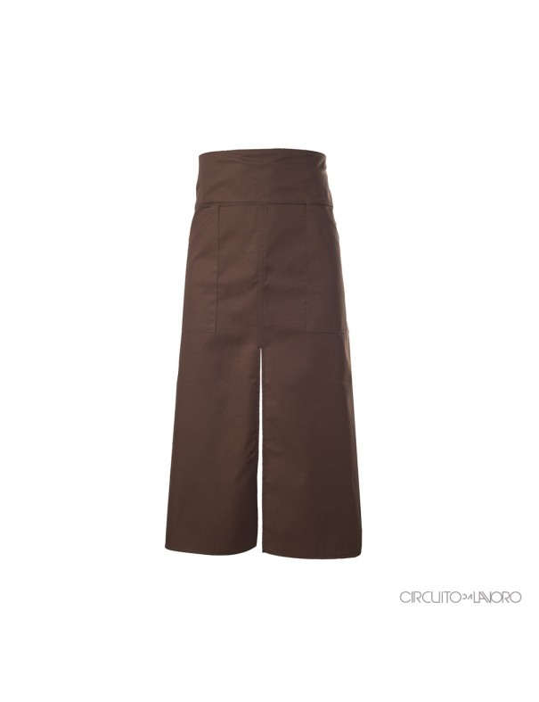 Alloro Brown - Low apron with waist band