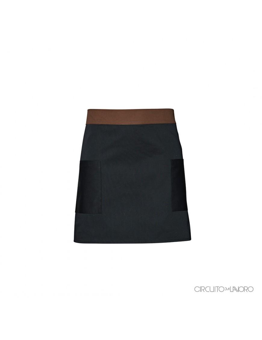 Terra Black-Brown - Low apron